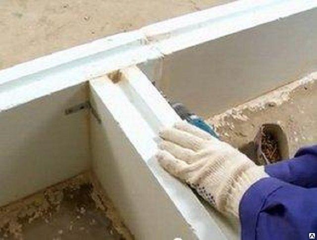 Перегородка из пазогребневых плит своими руками