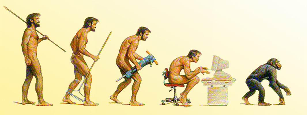 модели степень деградации человека от идеального это вместе